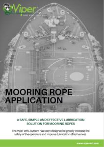 Mooring Rope Application