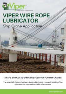 Viper Ship Crane Application Brochure