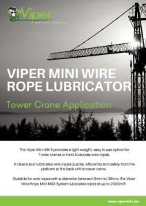Viper Tower Crane Brochure